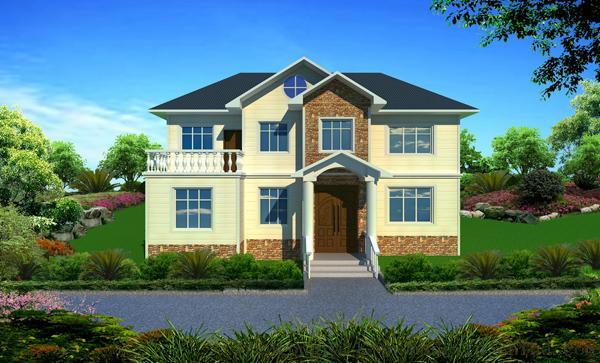 鲁工润屋轻钢别墅,一个让人冷艳的新型产品144077305