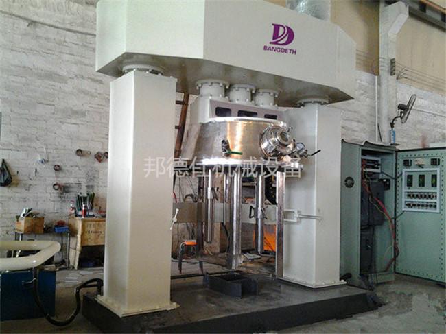 供应湖南5000升强力分散机 硅酮耐候胶生产设备861615135