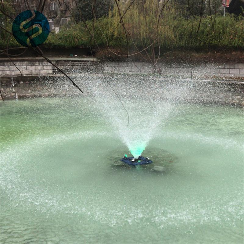 喷泉式曝气机
