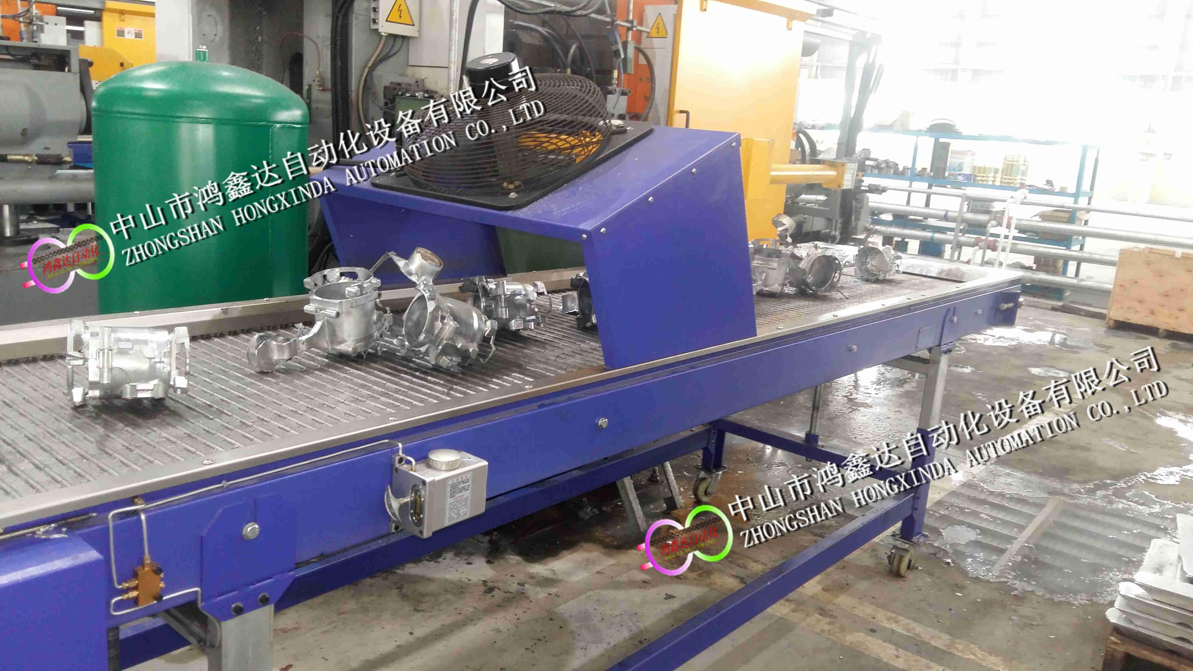 佛山铸铝件冷却链板线,中山铸铁件输送线811672165