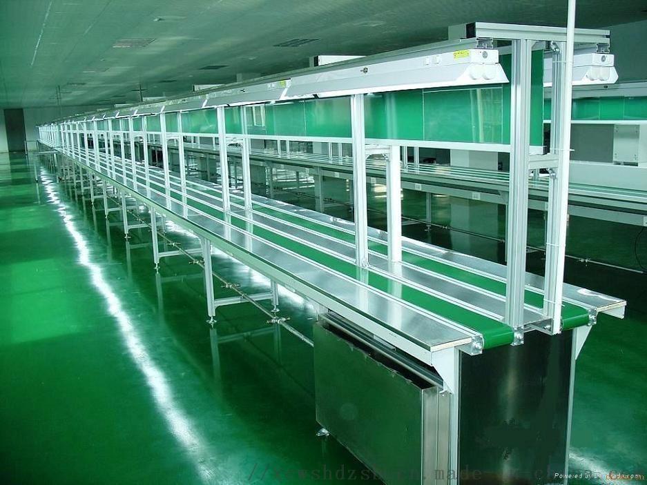 皮带输送线 输送带流水线 电子电器生产线72916032