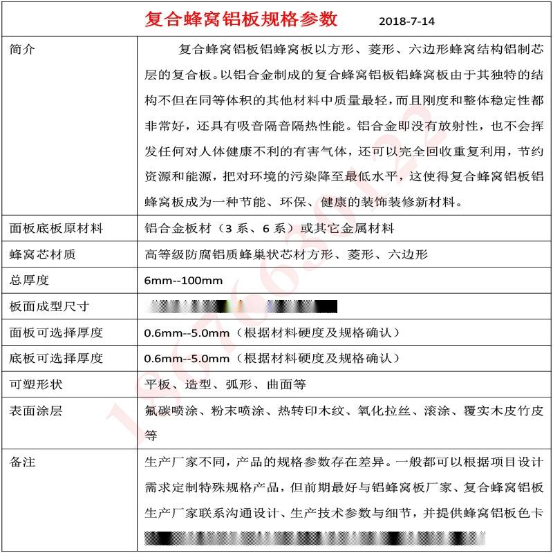 廣東蜂窩鋁板生產廠家 複合吸音鋁蜂窩板86420725
