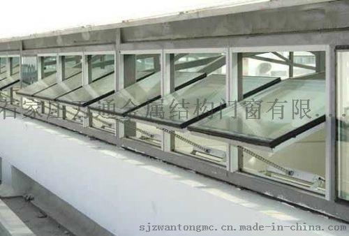 鋼結構中懸鋼天窗
