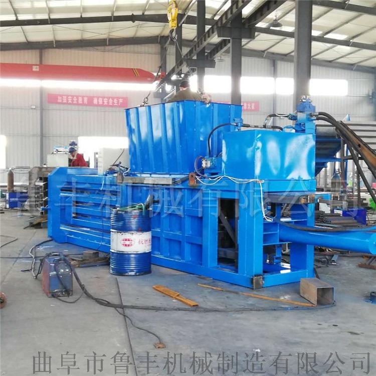 浙江160噸塑料泡沫礦泉水瓶大型臥式液壓打包機廠家96447212