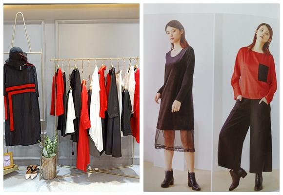 商场常见的女装品牌领葳品牌女装折扣厂家库存直销91653025