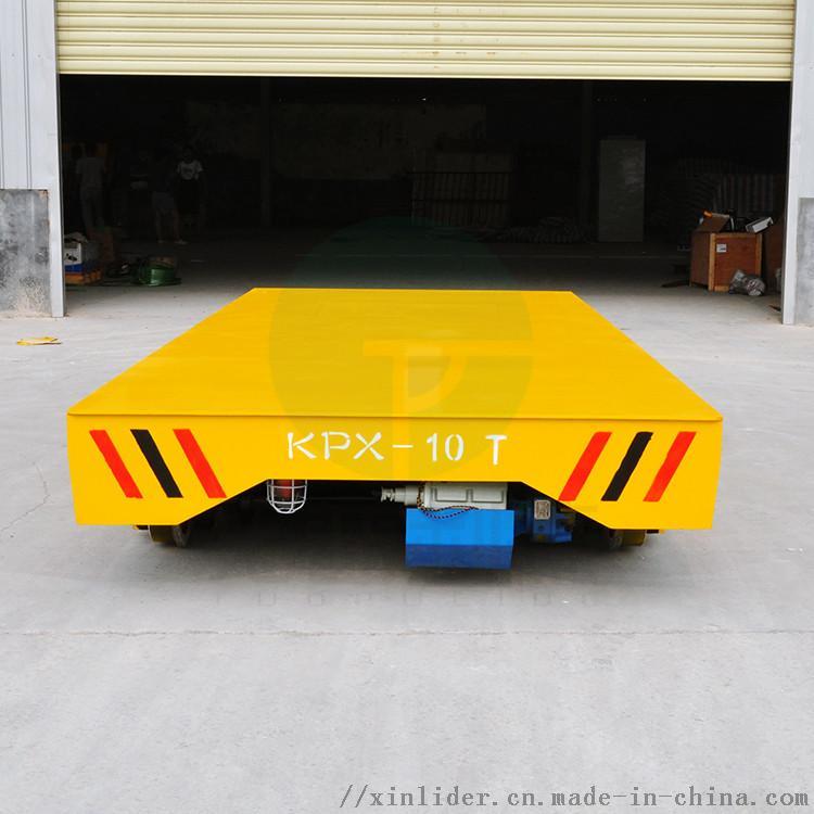 郑州定制电动平板车铸钢轮重型钢材转运车762510592