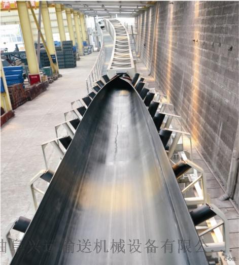 沙石用管状输送机   圆管状皮带运输机35046962