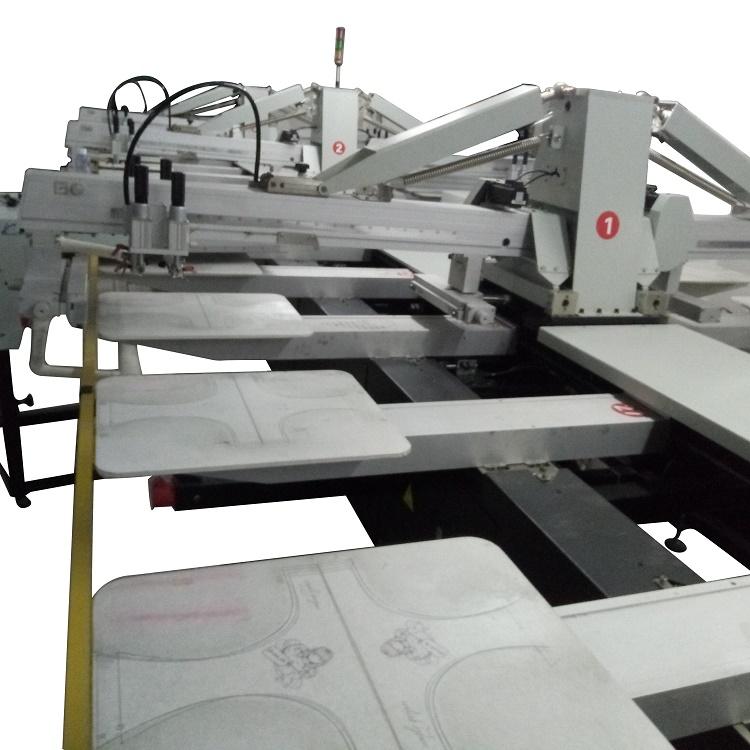 厂家供应全自动椭圆印花机 皮革平网印花机服装印花机817061765