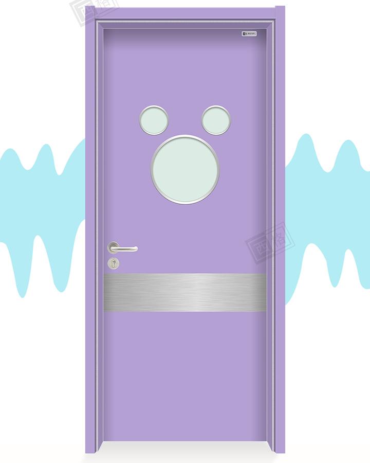 HPL儿童医院门-单开门-Y17浅紫罗兰-米奇视窗-中部防撞带_02.jpg