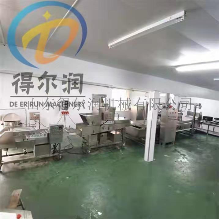 自动裹糠设备 食品裹面包屑雪花片机器871850872