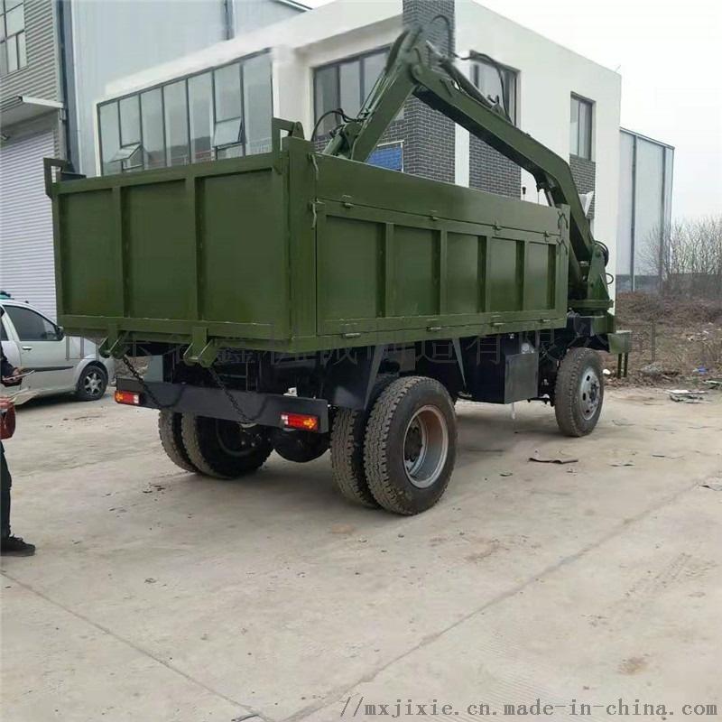 轮式多功能吊挖一体机 园林绿化挖吊一体机110200002