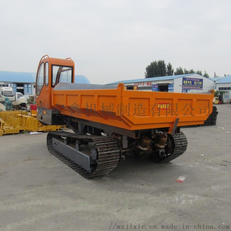 5吨履带爬山虎运输车 农用果园自卸搬运车108430132