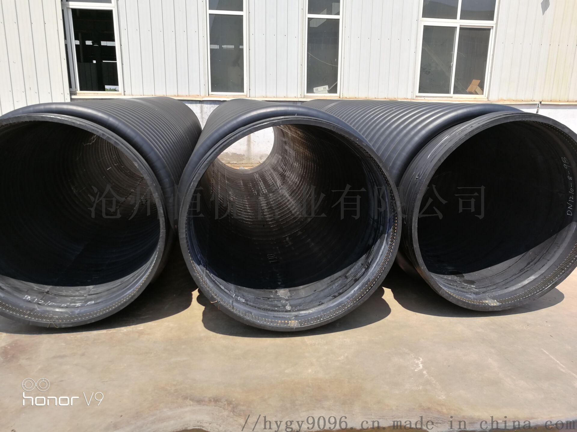 缠绕排水管克拉管直销厂家报价767723842
