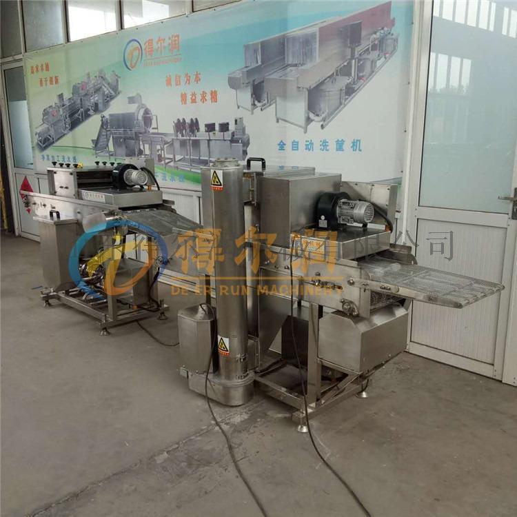 连州D&全自动裹浆上面包糠机器 智能鱼排上浆裹糠机57112462