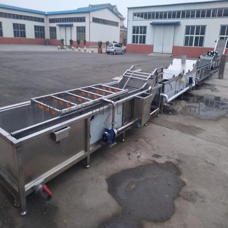 雞毛菜清洗瀝水機 淨菜加工設備 油菜清洗機流水線786660252