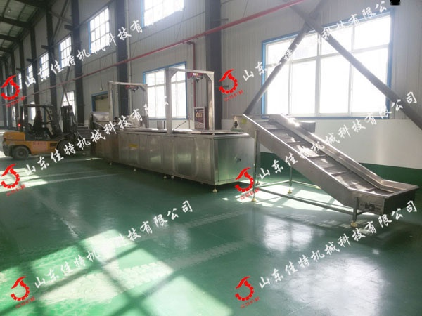 福建春卷油炸机 大型油炸流水线46056352