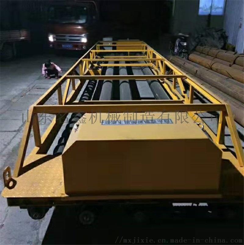 定制3.5-12米加长摊铺机 起拱架子三滚轴摊铺机832490022