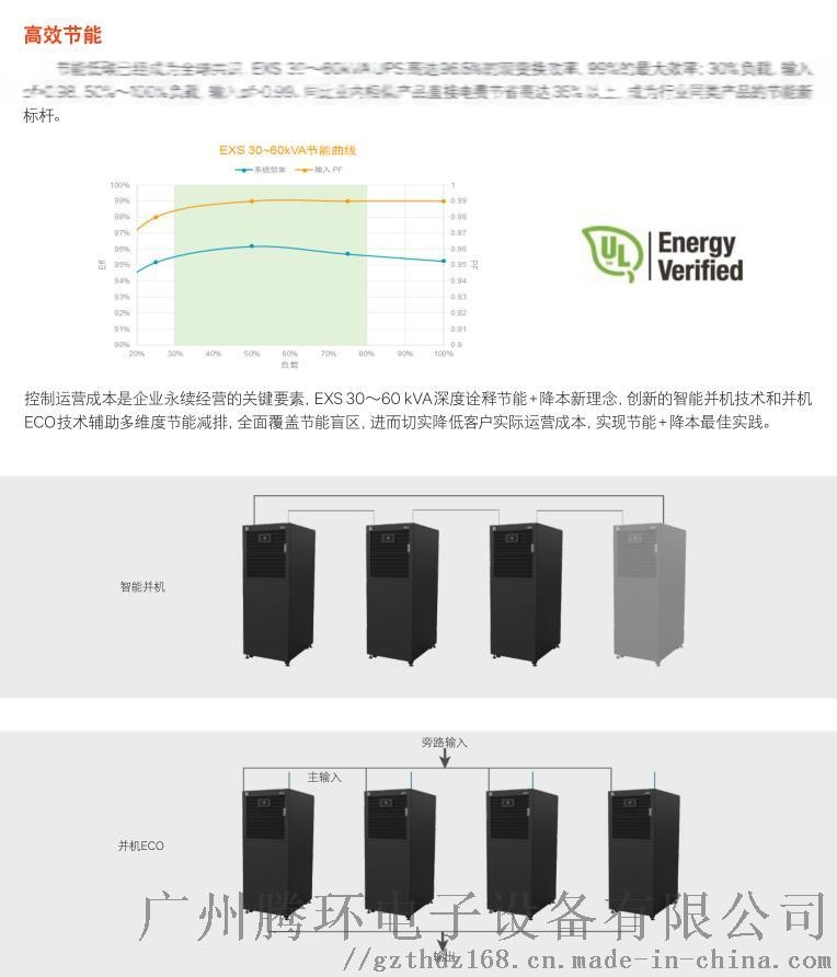 艾默生EXS-30KVA在线式UPS电源维谛技术127216485