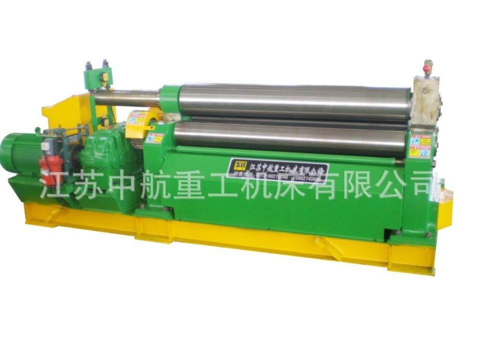出口机械卷板机8-2000出厂图片