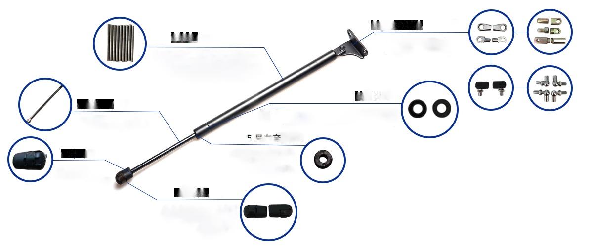 手动调节气弹簧 钢制气弹簧137304195