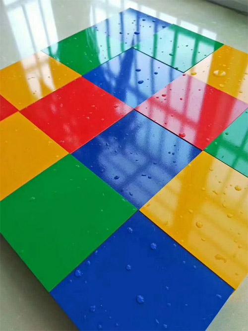彩色喷涂铝单板 亮光喷油铝单板 彩色铝板图片.jpg