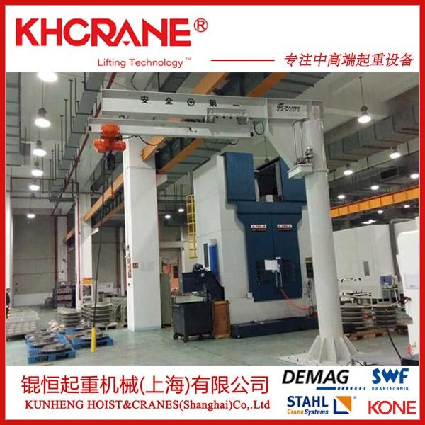 锟恒0.5吨电动小型手推式悬臂吊 移动悬臂吊860994925