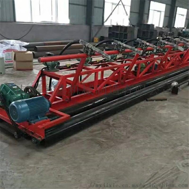 定制3.5-12米加长摊铺机 起拱架子三滚轴摊铺机832490002
