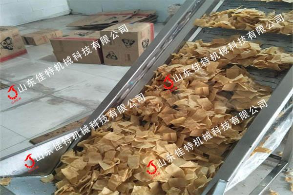 安徽省油型山藥片油炸機 山藥脆片油炸生產線85671422