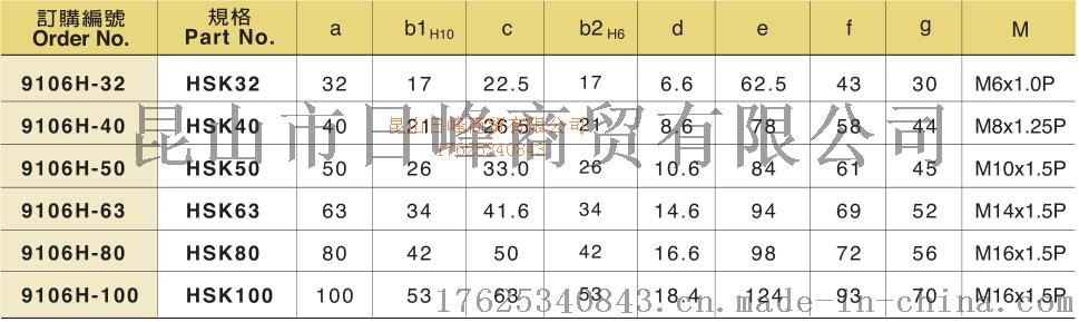 HSK32主軸拉爪臺灣丸榮774067675