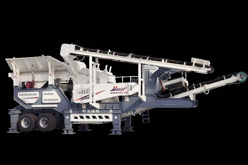 時產200噸移動碎石機-移動磕石機-機制 機製砂生產設備79493432