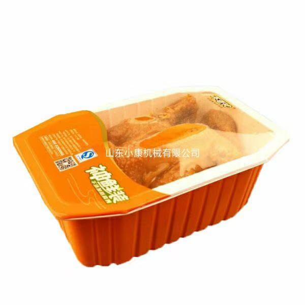 供应立式封盒机,山东小康牌整只烧鸡气调保鲜封盒机66422122