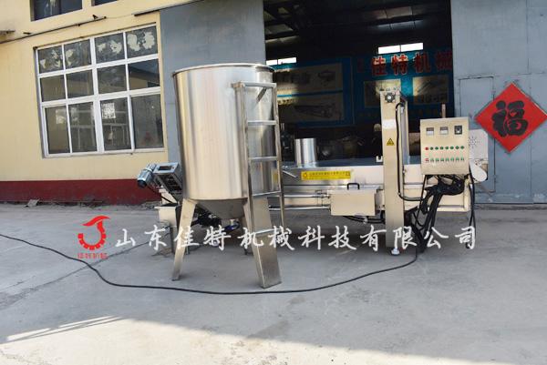 贛州花生巴豆巴子油炸機廠家支持定做79684402