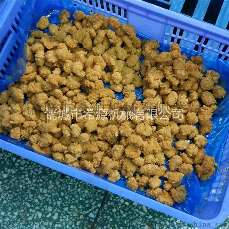 滚筒鸡块裹粉机 鸡块挂糊机 鸡块涂裹生产线设备71447702