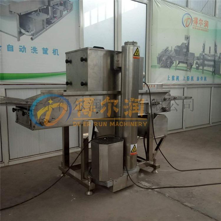 新一代鸡排挂浆机 鸡排裹面包糠机 鸡排裹粉机(图)58055142