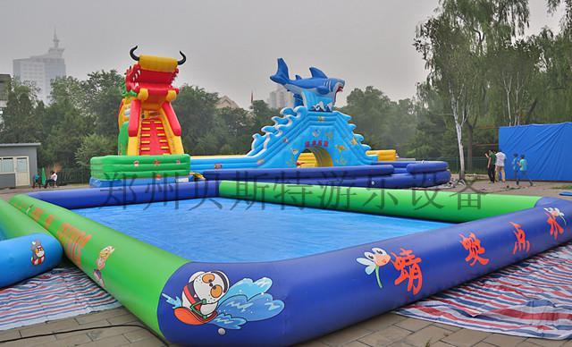 四川水上樂園水上遊樂設施廠家定做直銷支架游泳池776827435