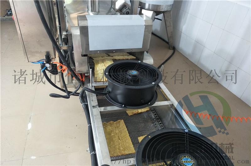 豆皮油炸设备 厂家直销全自动腐竹油炸机器101372442