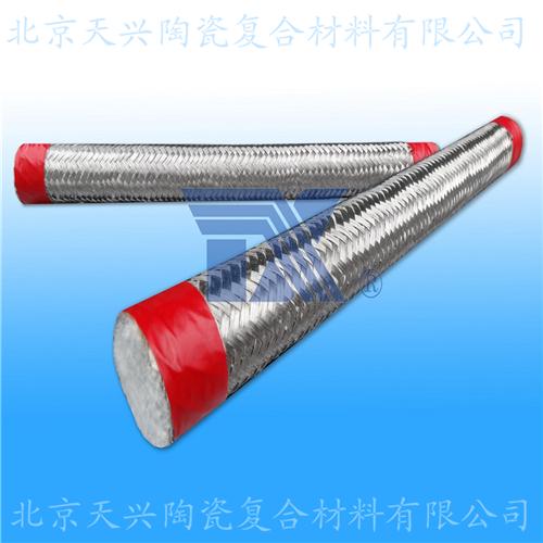 陶瓷纤维外编金属丝圆绳15