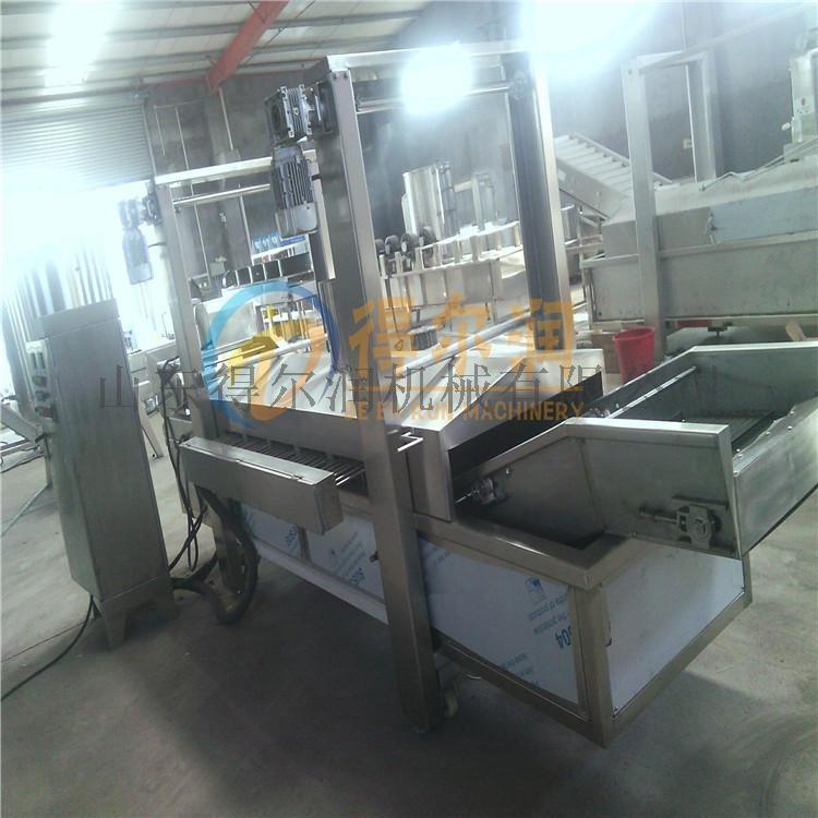 天津 鸡米花油炸生产线 自动鸡排油炸机 油炸设备770992642