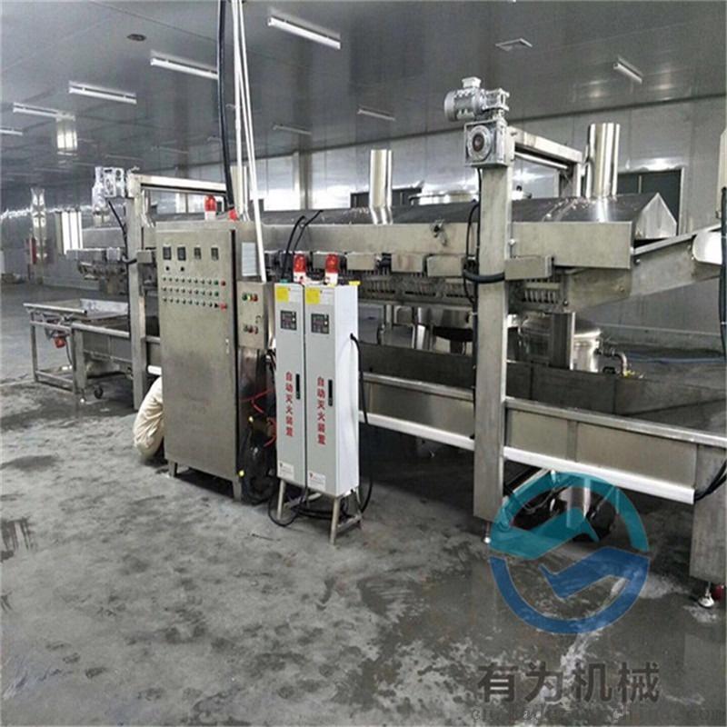 优质商家鸡排油炸设备 鸡排油炸机 鸡排油炸生产线100167262