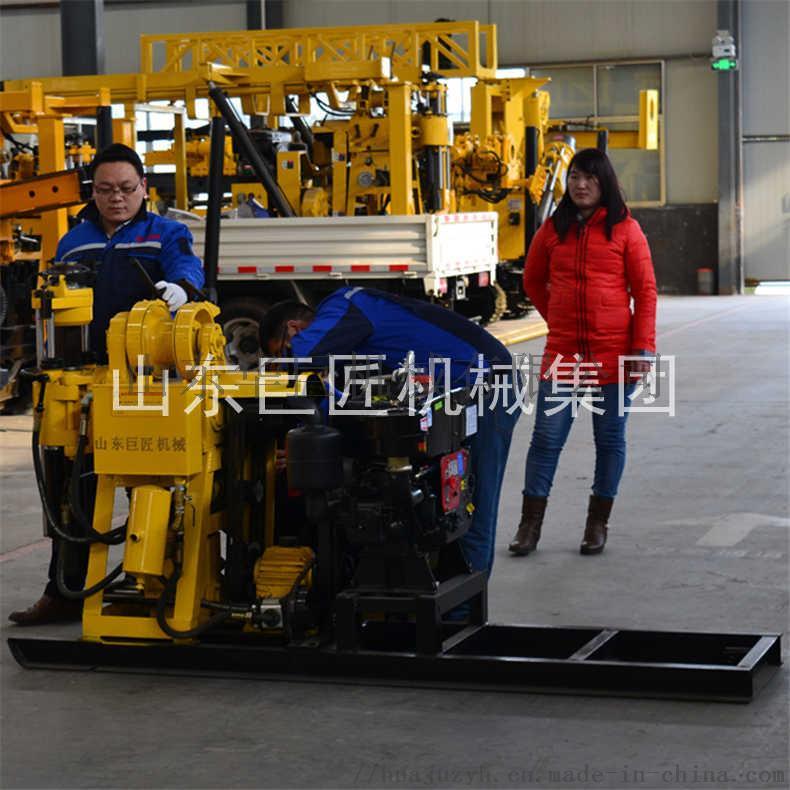 巨匠提供HZ-130Y百米勘探鑽機全液壓岩心鑽機817441722