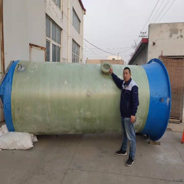 玻璃钢预制一体化泵站 污水泵站826646152