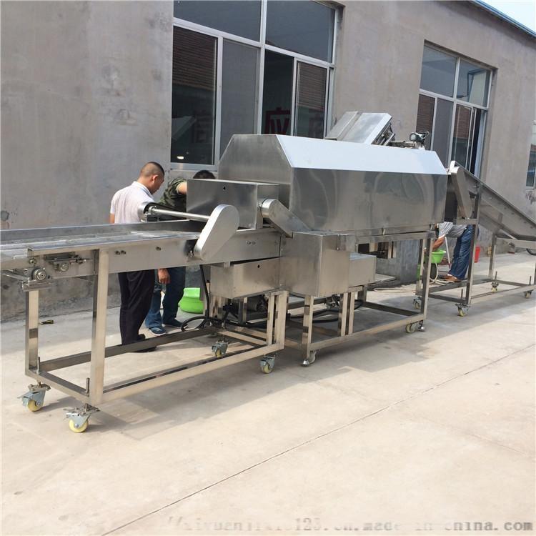 供应调理食品上浆-上粉-裹糠-裹涂设备 现场试机109570752