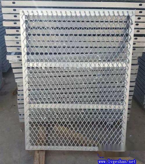 菱形铝网板 拉网板吊顶 隔断装饰铝网