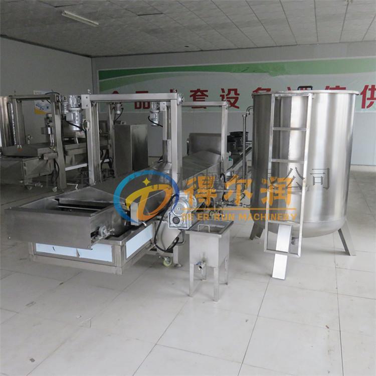 天津 鸡米花油炸生产线 自动鸡排油炸机 油炸设备770992612