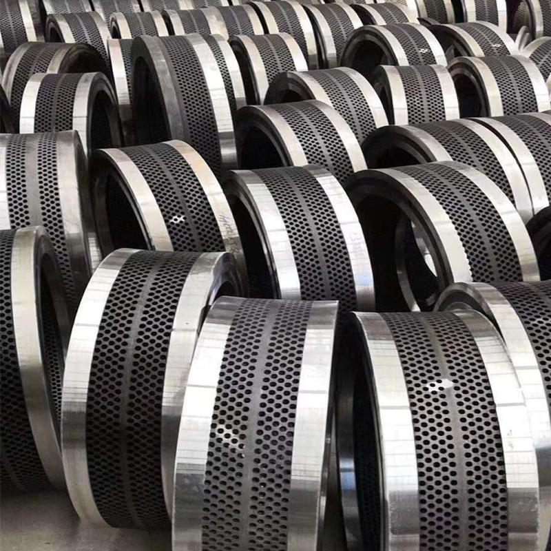 供应**560颗粒机环模模具 耐磨合金钢环模模具出料均匀837383952