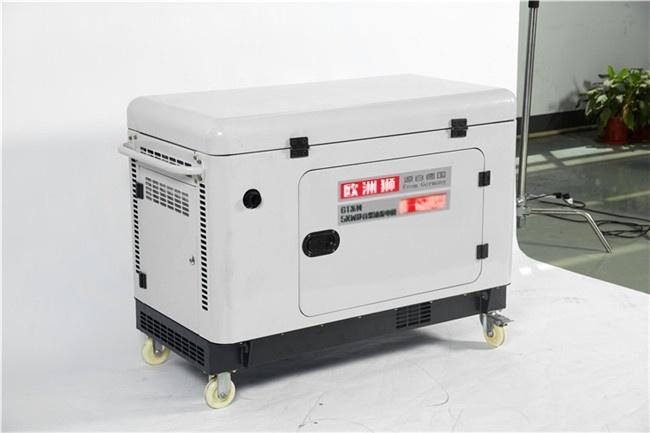 電啓動靜音5kw柴油發電機型號814091722
