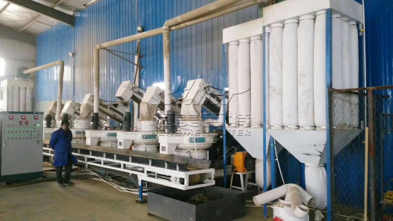 湖南木屑颗粒机 锯末制粒生产线设备厂家109239002
