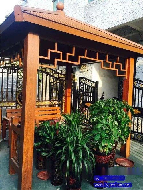 木纹铝型材凉亭 铝型材加工.jpg