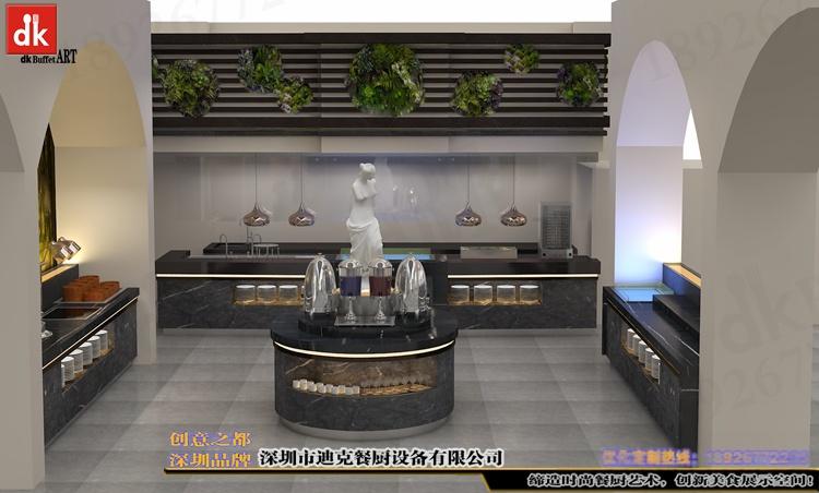 江西自助餐厅石英石自助餐台 整体餐厅餐台设计 广东专业设计酒店自助餐台 自助餐厅设计 酒店自助餐台图片布菲台 (3).jpg