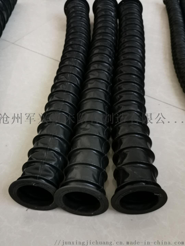 圆筒式伸缩丝杠 立柱 油缸用防尘罩 丝杠保护套112352132